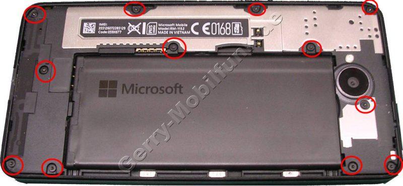 Lumia 650 Reparatur Anleitung