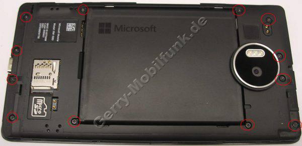 Unterschale Microsoft Lumia 950