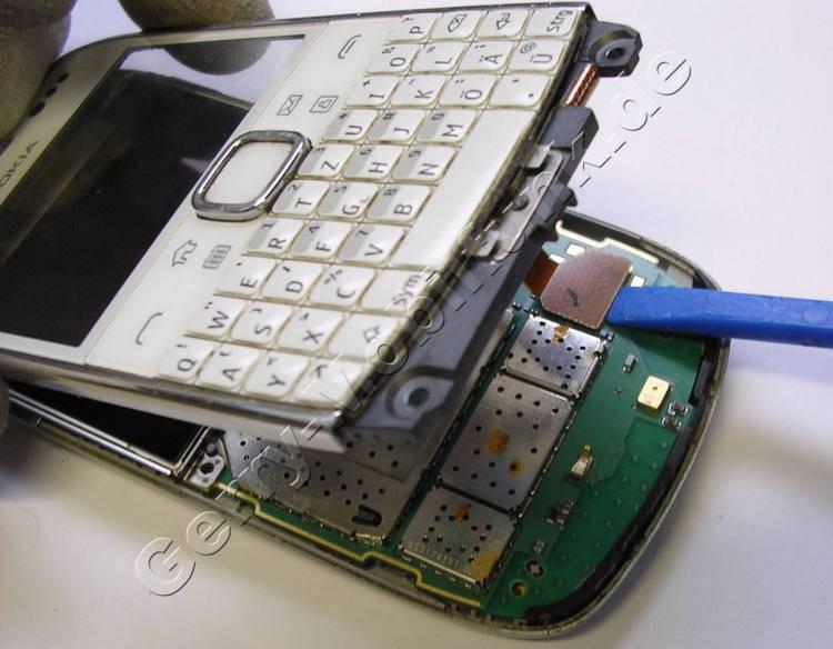 Tastaturmodul Nokia E6-00