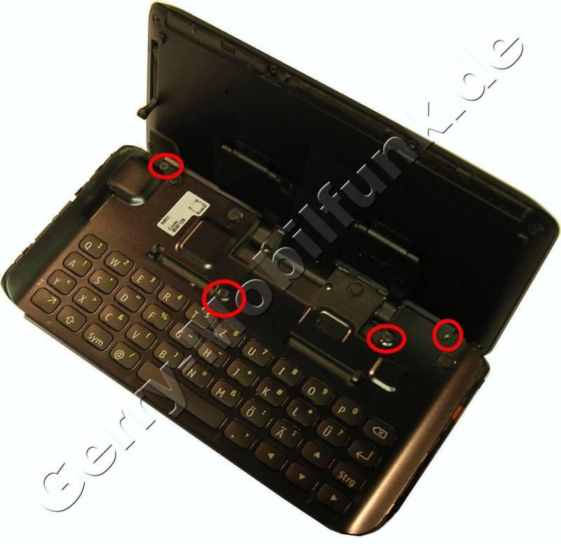 Tastaturabdeckung mit Schrauben Handyersatzteil
