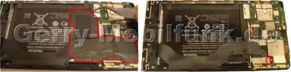 Akku-Aufkleber Nokia Lumia 1520