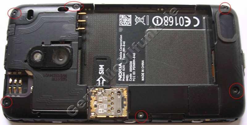 Reparatur Nokia Lumia 620