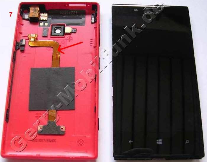 Gehäuserahmen Nokia Lumia 720