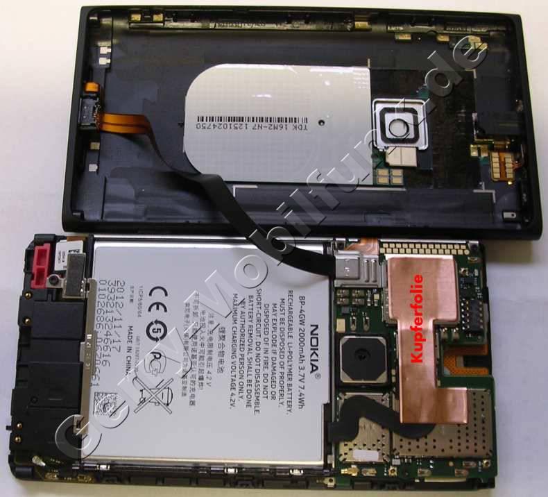 Unterschale Nokia Lumia 920