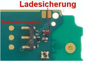Batterie-Konnektor & Ladesicherung Nokia N79
