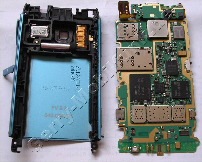 Gehäserahmen Nokia N8