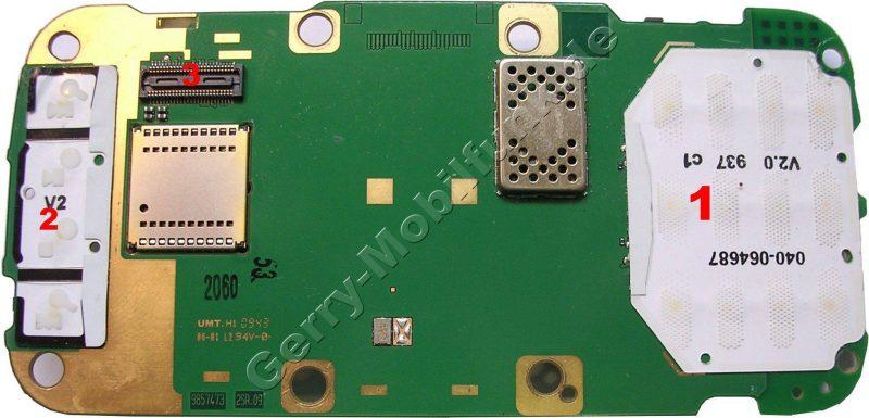 Platinenlayout Nokia N86