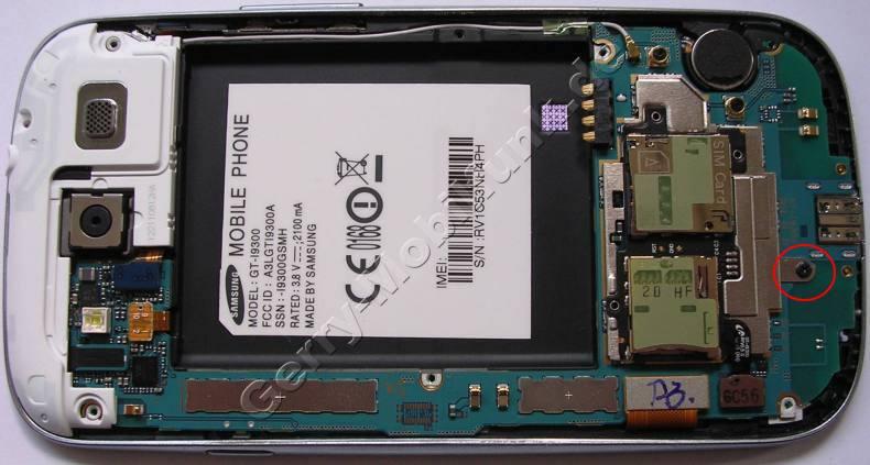 Simkartenleser Samsung GT-i9300 Galaxy S3