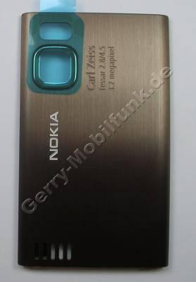 Akkufachdeckel braun Original Nokia 6500 Slide Batteriefachdeckel brown