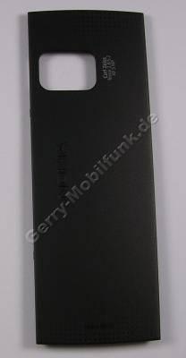 Akkufachdeckel schwarz Nokia X6 16GB original Batteriefachdeckel, Back Cover black