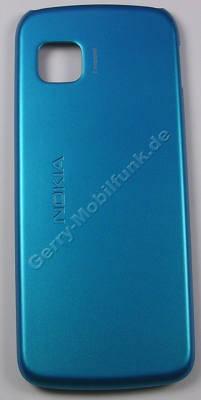 Akkufachdeckel blau Nokia 5228 original Cover, Batteriefachdeckel blue