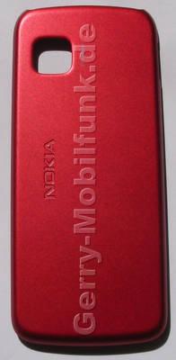 Akkufachdeckel rot Nokia 5230 original Cover, Batteriefachdeckel red