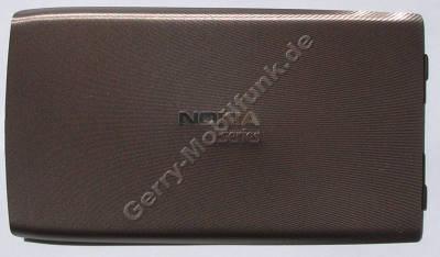 Akkufachdeckel gold Nokia E52 original Batteriefachdeckel