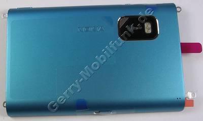 Akkufachdeckel blau Nokia E7-00 original Batteriefachdeckel blue