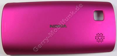 Akkufachdeckel pink Nokia 500 original Batteriefachdeckel, Akkudeckel