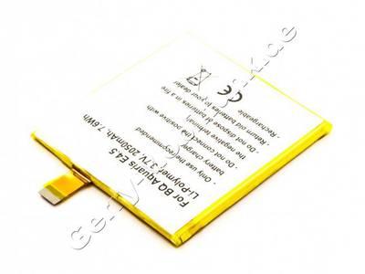 Akku Q Aquaris E4.5, Li-Polymer, 3,7V, 2050mAh, 7,6Wh