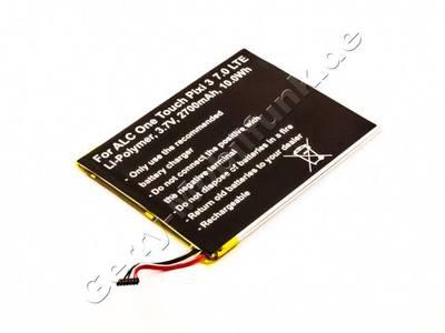 Akku Alcatel One Touch Pixi 3 7.0 LTE, Li-Polymer, 3,7V, 2700mAh, 10,0Wh