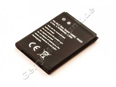 Akku Alcatel One Touch 1040X Li-Ion, 3,7V, 400mAh 1,5Wh