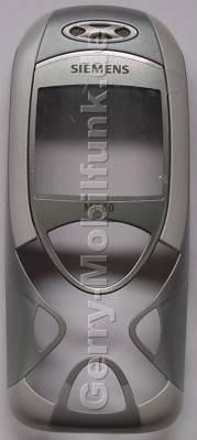 Oberschale original Siemens MC60 grau (Cover) incl. Displayscheibe, grey