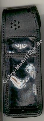 Ledertasche schwarz mit Gürtelclip Dancall 2711