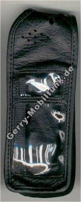 Ledertasche schwarz mit Gürtelclip Ericsson 888