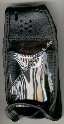 Ledertasche schwarz mit Gürtelclip Ericsson 768