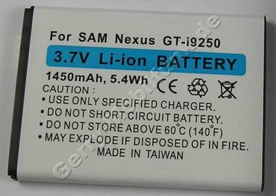 Akku Samsung GT-i9250 Li-Ion 1450mAh 3,7Volt 5,4Wh