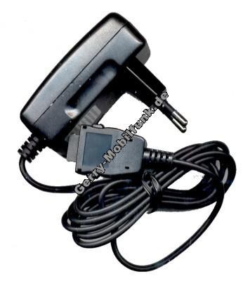 Reiseladekabel für Samsung  A200 A300 A400 Q200 T100 N400 N500 N620 N600 N500 R210 V200 E700 E710 A800 T400 R200 N200 S200 S300 S500 C100 E100 X100  X600 P400 D410 E600 X400 P510 E300 E310 P100 E800 E820 (Stecker-Netzteil)