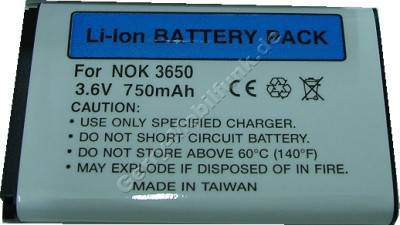 Akku Nokia 1100 Li-Ion 1000 mAh 3,7 Wh 6,5mm Akku vom Markenhersteller mit 12 Monaten Garantie, nicht original Nokia (entspricht BL-5c, BL-5CA)