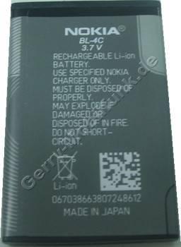 BL-4C original Akku Nokia 6102 3,7 Volt 860mAh 3.2Wh