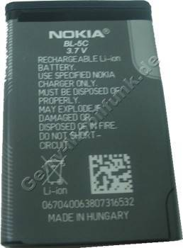 BL-5C original Akku Nokia 100