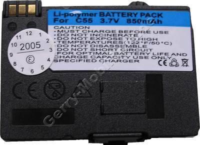 Akku Siemens A57 Li-polymer 850mAh 3,6V 7mm