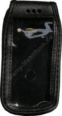 Ledertasche BenQ S88 schwarz mit Gürtelclip