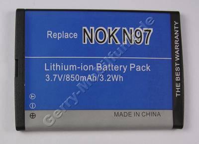 Akku Nokia NOKIA E7-00 (entspricht BL-4D) 1200mAh 4,4Wh Akku vom Markenhersteller mit 12 Monaten Garantie, nicht original Nokia