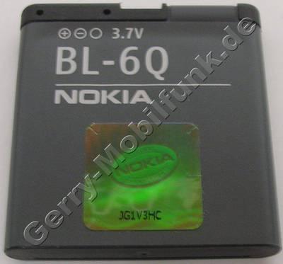 Akku BL-6Q original Nokia 6700 classic LiIon 960mAh 3,7V original Ersatzakku