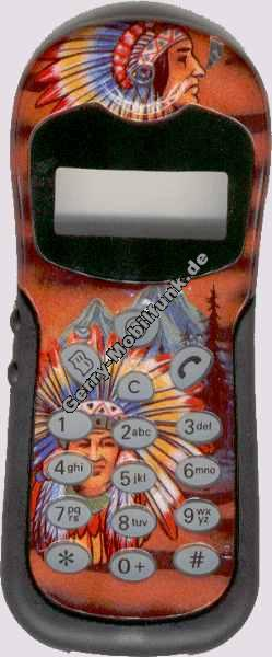 Cover für Alcatel O.T.Easy-DB View-DB Max-DB Club-DB Indianer Zubehöroberschale nicht original