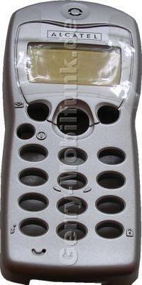 Oberschale original Alcatel 301 silber  (cover)  incl. Lautsprecher