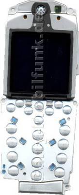 LCD-Display Nokia 6100 incl. Tastaturplatine, Lautsprecher und Rahmen, Tastaturmodul