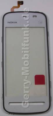 Touchpanel, Displayscheibe weiss Nokia 5228 original Bedienfläche white