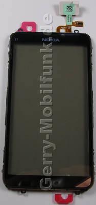 Displayscheibe, Touchpanel Nokia E7-00 original aktives Displayfenster