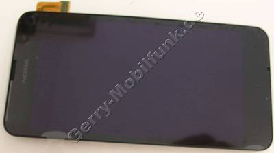 Ersatzdisplay - Display - Displaymodul, Touchpanel Nokia Lumia 630 original Frontcover mit Displayscheibe, LCD-Display, Touchscreen, Digitizer, CARE DISPLAY & WINDOW FRAME ASSEMBLY