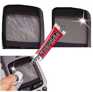 Displex Tube verschließbar. Polierpaste zum aufpolieren von Kunststoffgläsern und Displayscheiben aus Kunststoff (ca 10-15 Anwendungen bei Handydisplays, NICHT zur Verwendung bei aktiven Scheiben - Touchpanel )