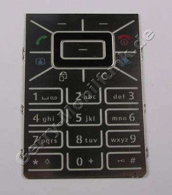 Tastenmatte silber BenQ-Siemens EF81 Original Tastatur