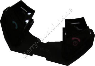 Tastenmatte Menütasten Siemens SL65 schwarz black Original