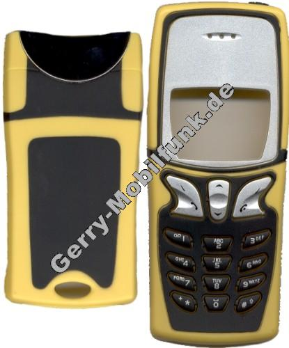 Oberschale für Nokia 8210 look 5210 gelb inkl. Akkufachdeckel Zubehöroberschale nicht original (cover)