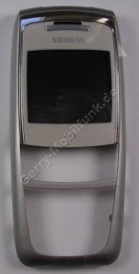 Oberschale Siemens A75 original polar silber (Gehäuseoberschale) Cover mit Displayscheibe