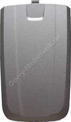 Akkufachdeckel Siemens AX75 original stone silber (Batteriefach) (cover)