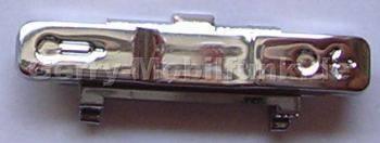 Seitliche Taste links aluminium BenQ-Siemens S68 Original