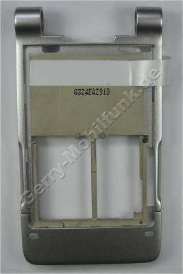 Tastatur Gehäuse silber BenQ-Siemens EF81 Original Rahmen der Tastatur, Cover, Oberschale vom Unterteil