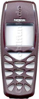Original Nokia 3510 3510i Cover Burgundy (Oberschale)